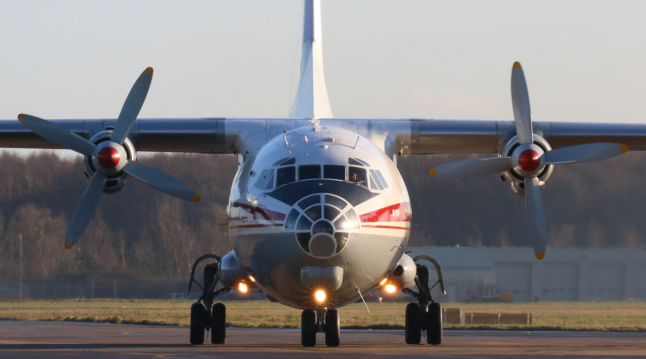 Ukraine Air Alliance, Antonov An-12BP, UR-CGW<br /> By Correne Calow.