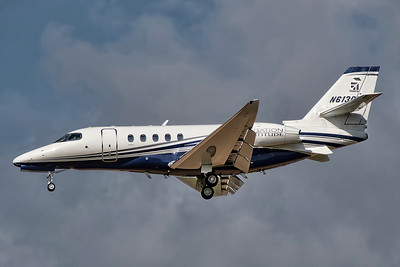 Textron Cessna 680A Citation Latitude N613CL. By Tony Lowther.