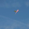 The US Navy Leapfrogs parachute team led off the festivities.