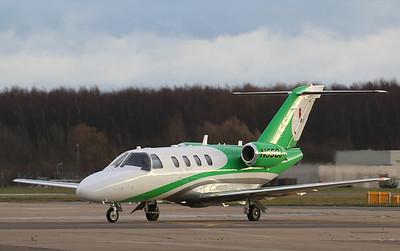 Think-Cell, Cessna 525 CitationJet CJ1, N55CJ By Correne Calow.