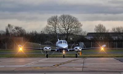 Pavilion Aviation Ltd, Cessna 340A, G-HAFG By Jim Calow.