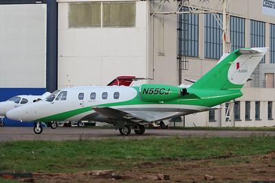 Think-Cell, Cessna 525 CitationJet CJ1, N55CJ By Graham Miller.