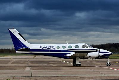 Pavilion Aviation Ltd, Cessna 340A, G-HAFG By Correne Calow.