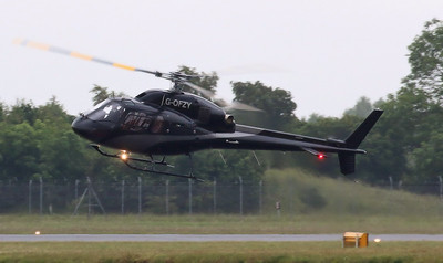 Atlas Helicopters Ltd, Eurocopter AS355 Ecureuil II , G-OFZY By Correne Calow.