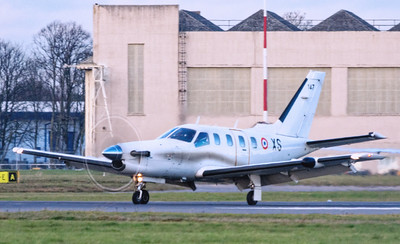 French Air Force, Socata TBM-700, 147 XS By Mick Bloor.