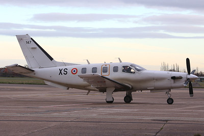 French Air Force, Socata TBM-700, 147 XS By Graham Miller.