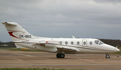 JetBee, Beechjet 400A, OK-BEE  By Correne Calow.