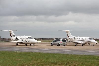JetBee, Beechjet 400A, OK-BEE  and  Netjets Europe EMB-505 Phenom 300, CS-PHH By Graham Miller