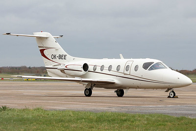 JetBee, Beechjet 400A, OK-BEE  By Graham Miller.