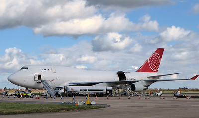 Astral Aviation (Air Cargo Global), 747-400F, OM-ACB By Correne Calow.