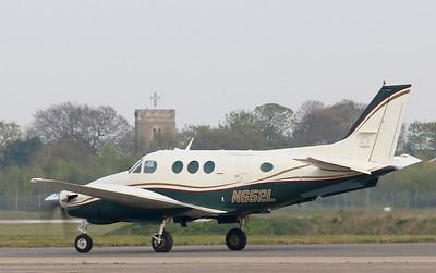 Beech King Air E90, N652L By Correne Calow.
