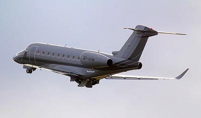 AMC Aviation Gulfstream G280 SP-NVM. By Jim Calow.