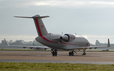 Bombardier CL-600-2B16 Challenger 650, HB-JBF By Correne Calow.