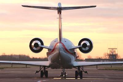 Bombardier CL-600-2B16 Challenger 650, HB-JBF By Graham Miller.