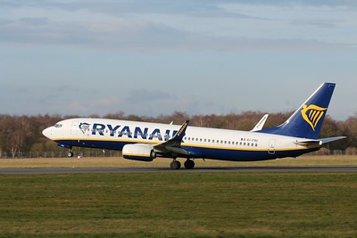 Ryanair, 737-800, EI-FRC By Clive Featherstone.