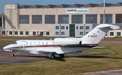 Cessna 750 Citation X D-BEEP. By Jim Calow.
