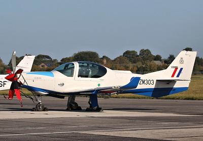 RAF, Grob Prefect T1, ZM303 By Correne Calow.