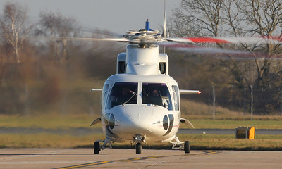 JC Bamford Ltd, Sikorsky S-76C, M-JCBA By Correne Calow.