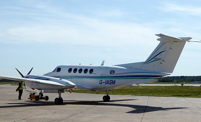 2Excel Aviation,  Beech 200 Super King Air, G-IASM By Correne Calow.