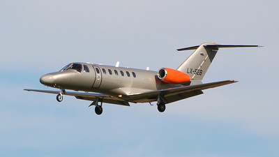 Jetfly Aviation, Cessna 525B CitationJet CJ3, LX-SEB returned with a defective door seal By Graham Miller.