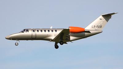 Jetfly Aviation, Cessna 525B CitationJet CJ3, LX-SEB By Graham Miller.