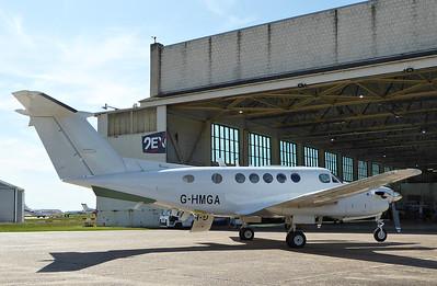 Beech 200 Super King Air, G-HMGA (ex N225SE) By Correne Calow.