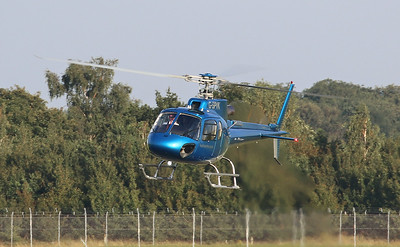 Helicentre, Eurocopter AS 350B3 Ecureuil, G-SPVK By Correne Calow.