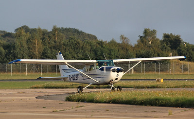 Cessna 172M Skyhawk, G-BZBF By Correne Calow.