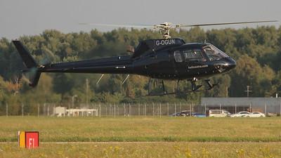 Helicentre, Eurocopter AS 350B2 Ecureuil, G-OGUN By Graham Miller.
