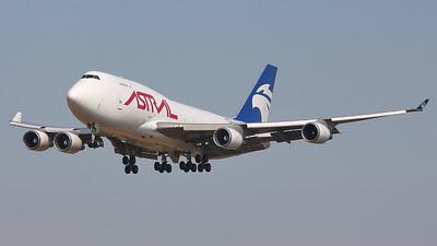 Astral Aviation (Air Atlanta Icelandic) 747-400F TF-AMA By Graham Miller.