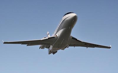 Gulfstream G200, M-GZOO By Steve Roper.