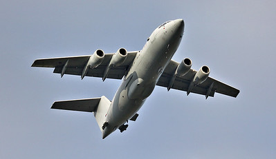RAF BAe 146-200QC ZE708 in the circuit at 16:34hrs By Steve Roper.