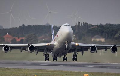 Astral Aviation (Air Atlanta Icelandic) 747-400F, TF-AMM By Steve Roper.