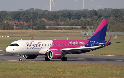 Wizz Air, A320neo, HA-LJD By Steve Roper.