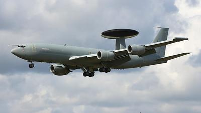 RAF, E-3D Sentry,  ZH101. By Graham Miller.