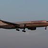 Royal Air Maroc  B767-300 arriving 24R from Casablanca, Morocco