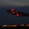 Air Canada B767-300, looks like the first officer forgot to turn on the tail light.
