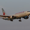 Air Canada B767-300 arriving 24R from Toronto