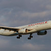 Air Canada A330-300 arriving 24R from London.
