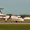 Air Inuit DASH-8-100 taxing down the runway