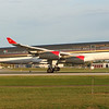 Royal Jordanian flight 267 on the ground in Montreal after an 11+ hour flight from Amman, Jordan.  Airbus A340-200
