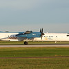 Hydro Quebec's DASH-8-400.  Shouldn't these guys have an electric plane?  Flying as HYD162 to Bagotville