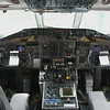 "The front office of this 21 year old MD-88  aka ""The Long Beach Cable Car"""