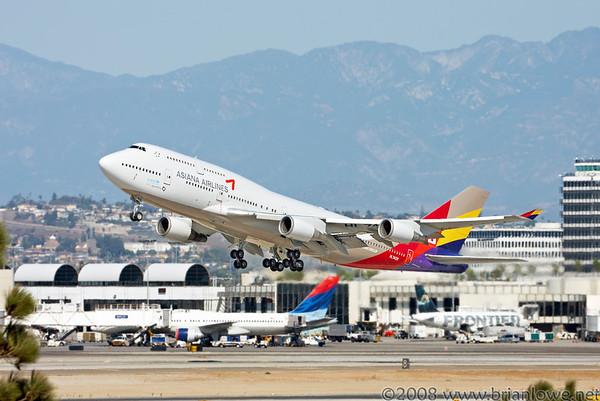 ASIANA 747 LAX