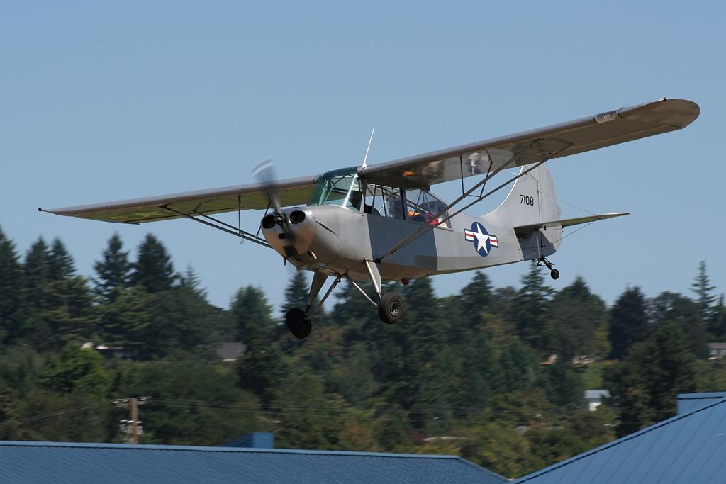 Aeronca 7BCM  N6451C s/n 47-1108