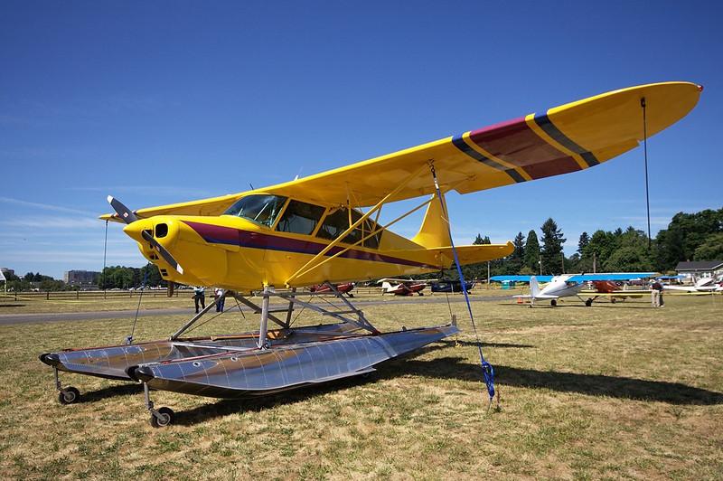 Glide Aero Yellow Swan <br> N57YS s/n GA-0063
