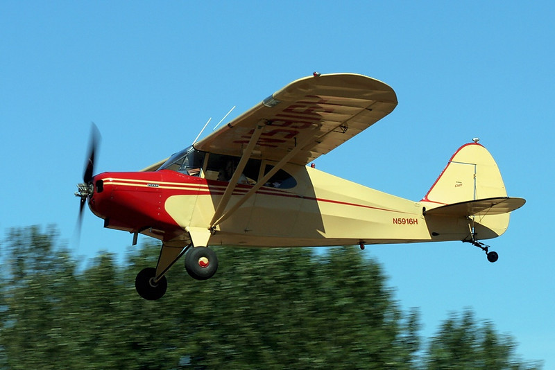 Piper PA-16  N5916H s/n 16-537