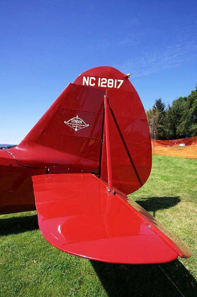 N12817 NC12817 (C/N 10)  Stinson Model O
