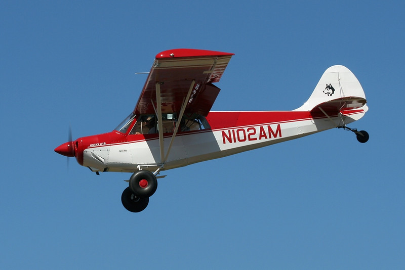 Aviat A-1B <br> N102AM s/n 2182