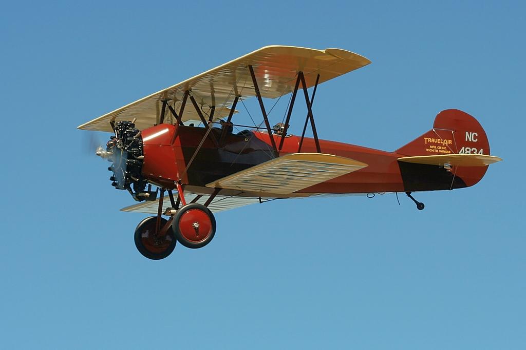 Travel Air 4000  N4834 NC4834 s/n 418